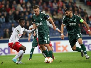 Salzburg:0 - Konyaspor:0