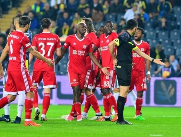 Fenerbahçe Sivasspor Maçından Kareler galerisi resim 1