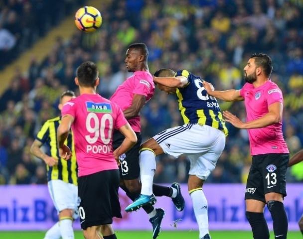 Fenerbahçe Kasımpaşa Maçından Kareler galerisi resim 1