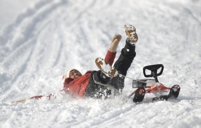 Uludağ'da kar kalınlığı yarım metreye ulaştı galerisi resim 1