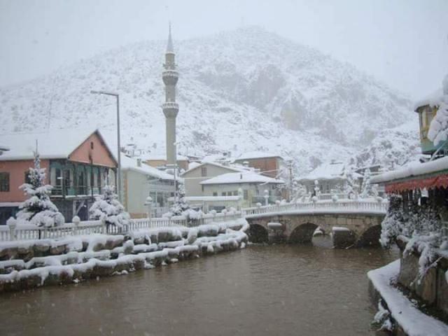Konya'da kar yağışı galerisi resim 1