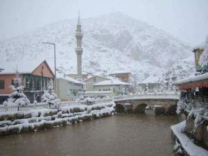Konya'da kar yağışı