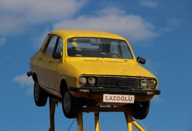 Gören 'uçan araba' sanıyor galerisi resim 1