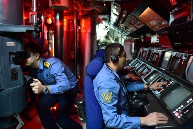 Türk donanmasının, denizaltındaki sessiz gücü galerisi resim 10