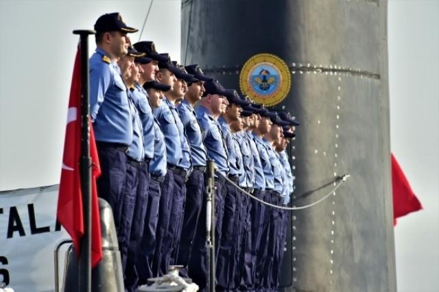 Türk donanmasının, denizaltındaki sessiz gücü galerisi resim 2