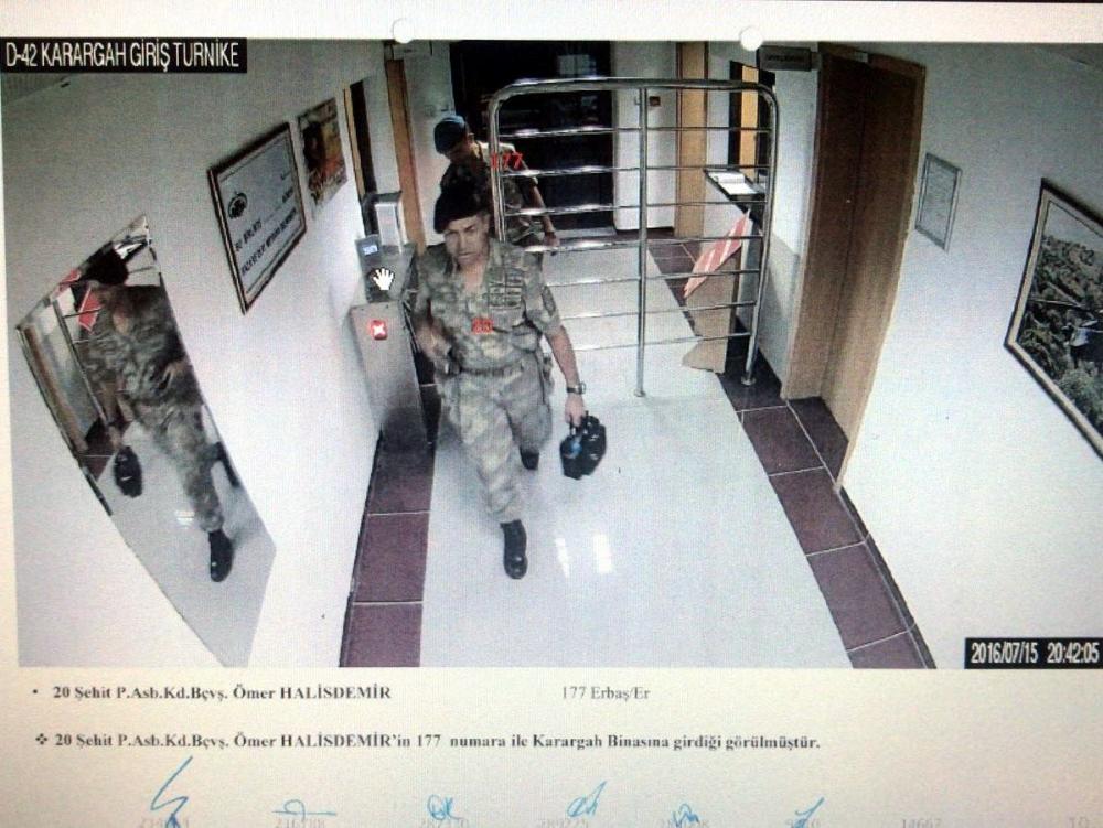Şehit Halisdemir'in son anları güvenlik kameralarında galerisi resim 1