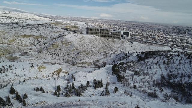 Konya'da kar yerini ayaza bıraktı galerisi resim 12