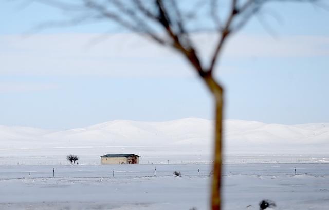 Konya'da kar yerini ayaza bıraktı galerisi resim 5