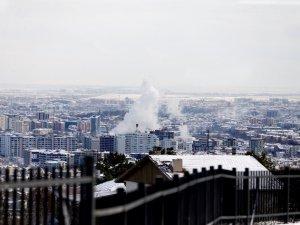 Konya'da kar yerini ayaza bıraktı