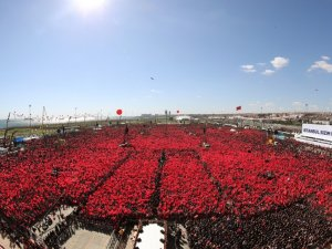 "Cumhur İttifakı'nın ""Büyük İstanbul Mitingi"""