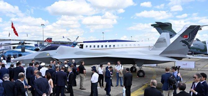 Milli Muharip Uçağı ilk kez görücüye çıktı