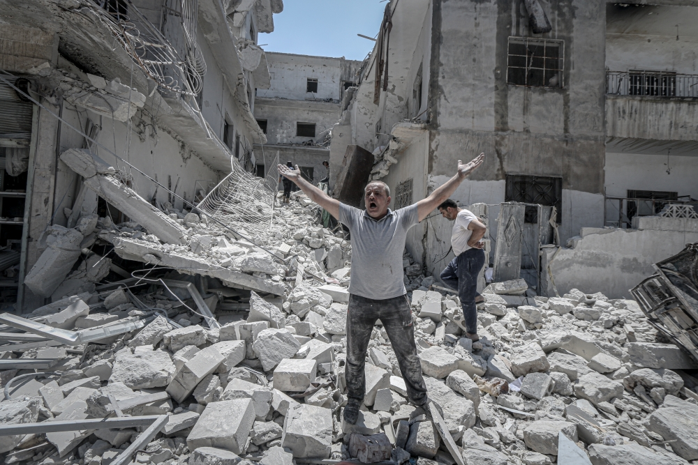 Suriye'de katliam! Dünya sessiz! galerisi resim 1