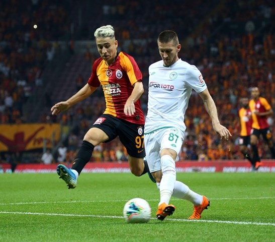 Galatasaray: 1 - Konyaspor: 1 galerisi resim 21