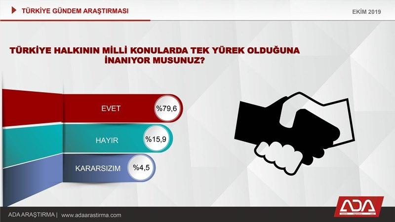 Türkiye Gündem Araştırması (Ekim 2019) galerisi resim 25