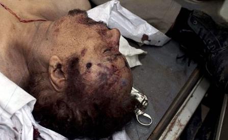Kaddafinin ceset fotoğrafı için yarıştılar  galerisi resim 3