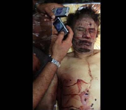 Kaddafinin ceset fotoğrafı için yarıştılar  galerisi resim 5