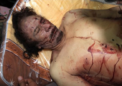 Kaddafinin ceset fotoğrafı için yarıştılar  galerisi resim 6