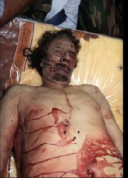 Kaddafinin ceset fotoğrafı için yarıştılar  galerisi resim 7