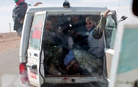 Kaddafinin ceset fotoğrafı için yarıştılar  galerisi resim 8