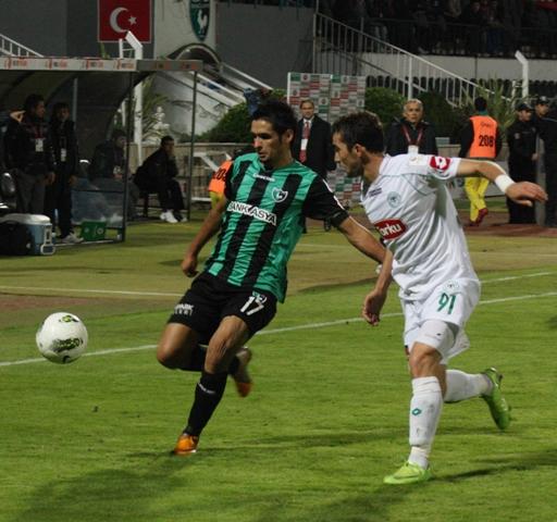 Denizlispor - Konyaspor 1-2 Sezon 2011-2012  galerisi resim 3