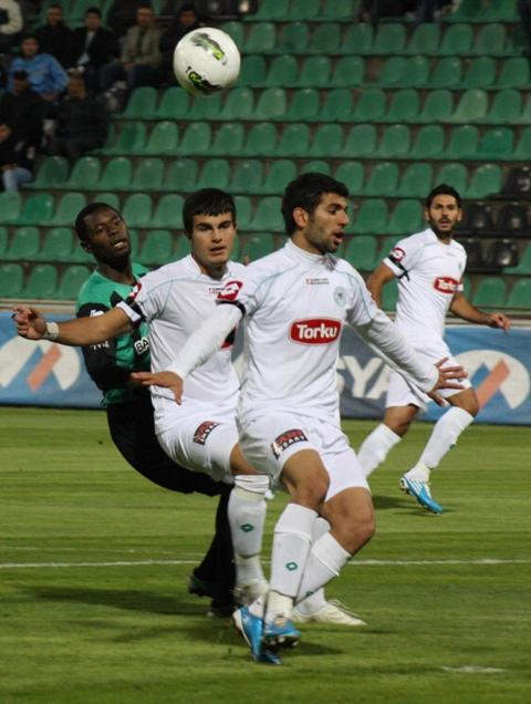 Denizlispor - Konyaspor 1-2 Sezon 2011-2012  galerisi resim 5