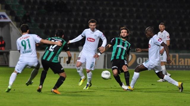 Denizlispor - Konyaspor 1-2 Sezon 2011-2012  galerisi resim 9