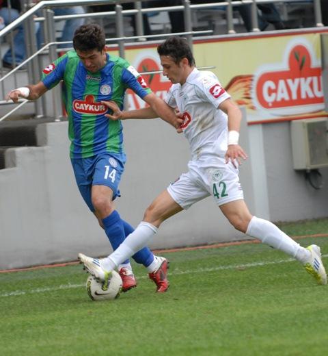 Çaykur Rizespor - Konyaspor 2-2  Sezon 2011-2012  galerisi resim 11