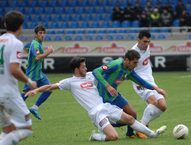 Çaykur Rizespor - Konyaspor 2-2  Sezon 2011-2012  galerisi resim 14