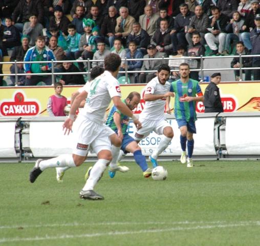 Çaykur Rizespor - Konyaspor 2-2  Sezon 2011-2012  galerisi resim 6