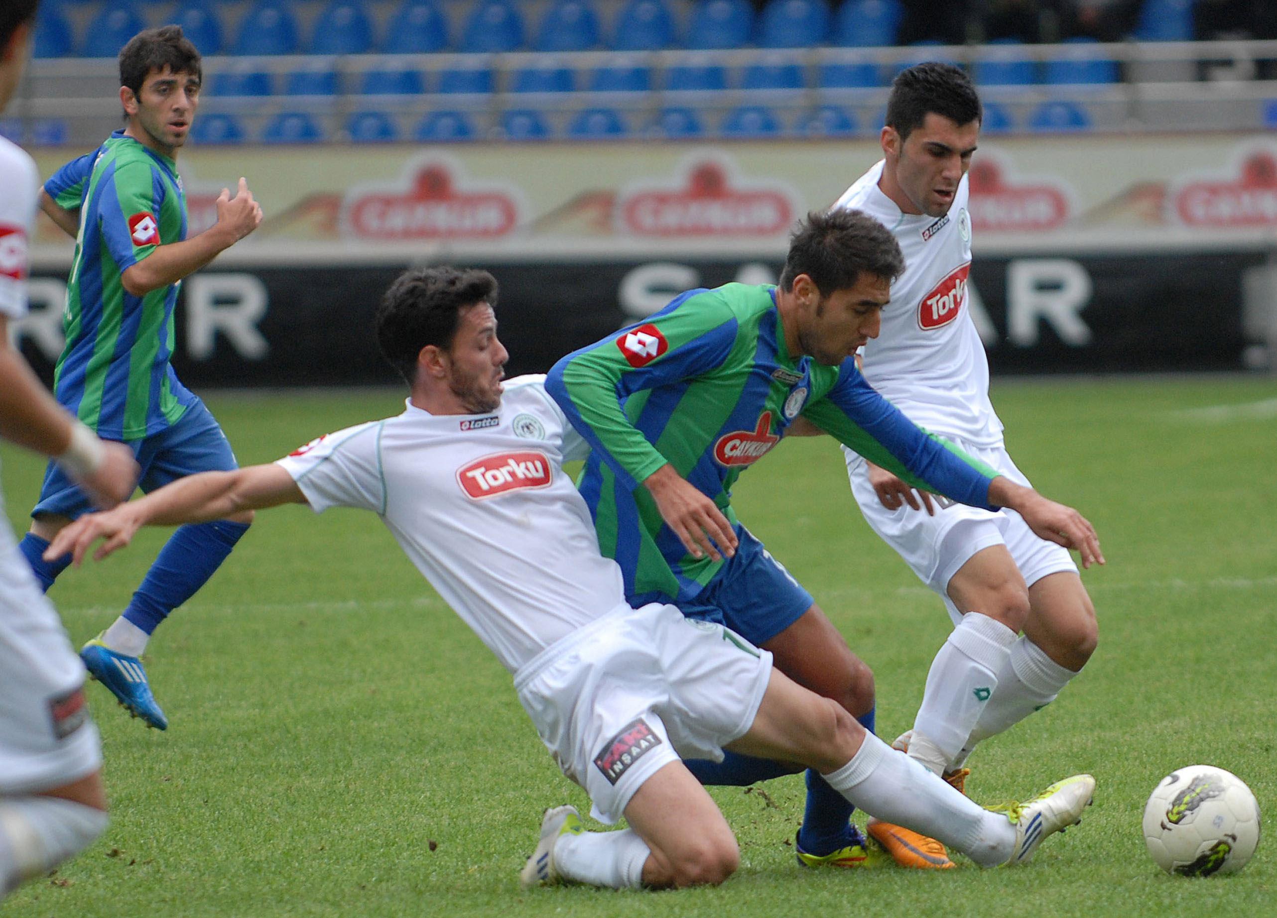 Çaykur Rizespor - Konyaspor 2-2  Sezon 2011-2012  galerisi resim 9