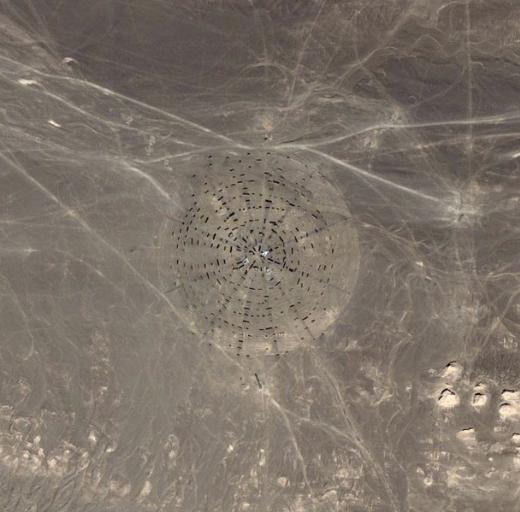 Çinin Gobi Çölündeki gizemli yapılar galerisi resim 14