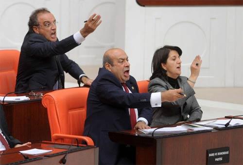 Mecliste bu sefer kadınlar kavga etti! galerisi resim 4