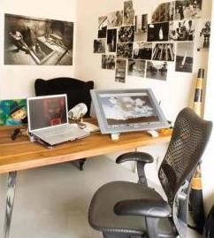 Ünlülerin akılalmaz çalışma odaları galerisi resim 18