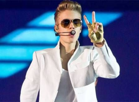 Bieber, İstanbulu  salladı
