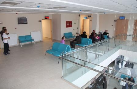 Numune Hastanesi Polikliniği hasta kabulüne başladı
