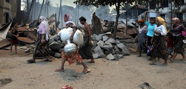 ABD Dışişleri Arakan'dan dolayı Myanmar'ı doğrudan kınamaktan kaçındı