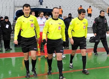 Karabükspor maçında düdük Şimşek'te