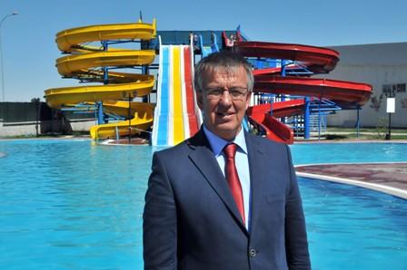 Akşehir'de Aquapark hizmete başladı