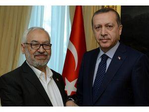 Başbakan Erdoğan Gannuşiyi kabul etti