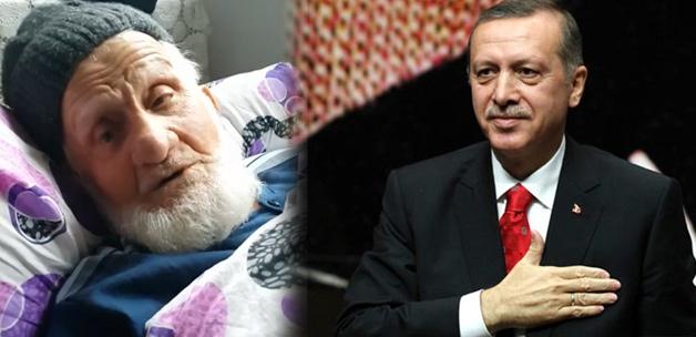 90 Yaşındaki Mahmut Dedenin Tayyip Erdoğan Sevgisi