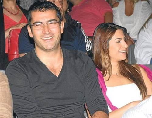 Kenan Imirzalioglu with hot, beautiful, sexy, Girlfriend Kubra Kucuk