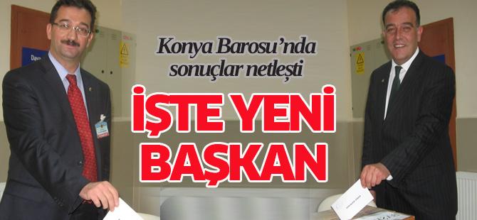 Konya Baro�da Kayacan Yeniden ba�kan se�ildi
