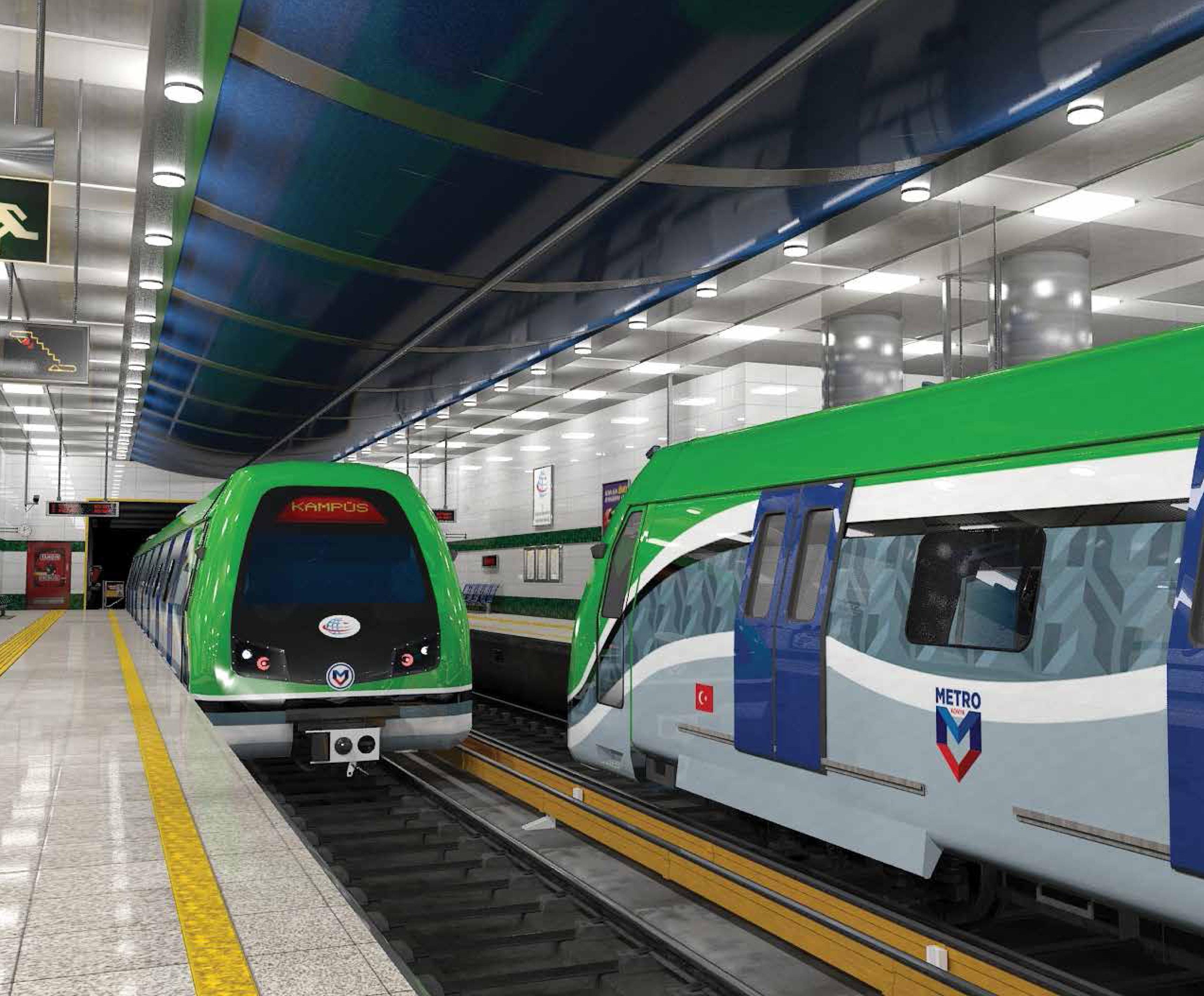 Konya Metroya kavuşuyor