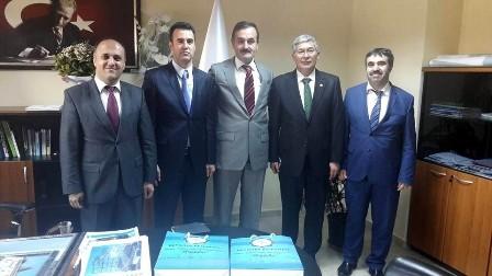 Beyşehir heyetinden Doğa Koruma ve Milli Parklar Genel Müdürlüğü'ne ziyaret