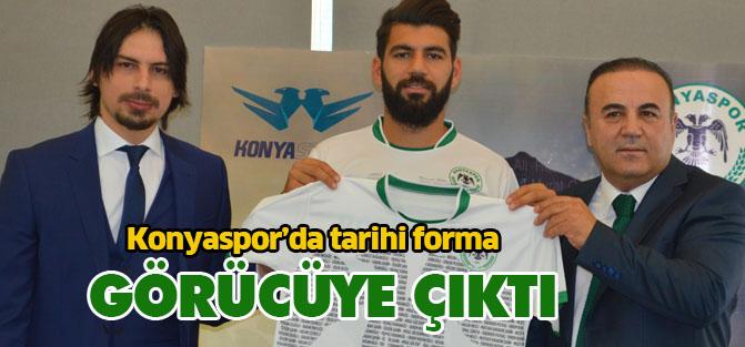 Konyaspor hatıra forması tanıtım lansmanı yapıldı