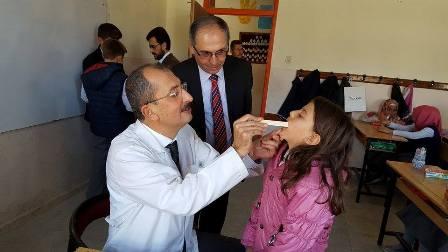 Derbent'te diş taraması