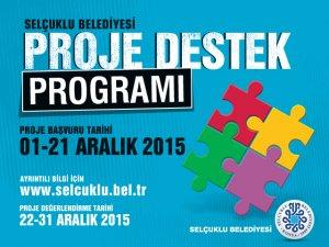 Selçuklu Belediyesi proje destek programı başlıyor