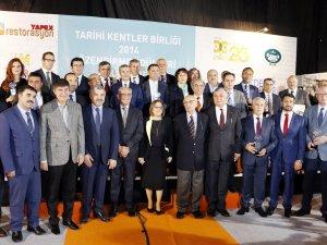 Tarihi Kentler Birliği'nin büyük Ödülü Konya Büyükşehir'in oldu