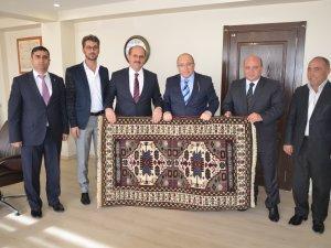 Müsteşar Prof. Dr. Ahmet Haluk Dursun, Karapınar'a geldi