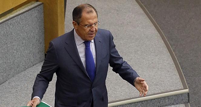 """Lavrov'dan Suriye'de """"çatışmasız bölge"""" açıklaması"""